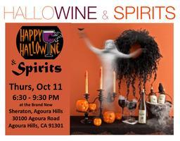 HalloWINE & Spirits...   Sip, Savor and Shop for the...