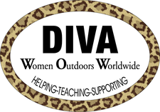DIVA WOMEN OUTDOORS WORLDWIDE logo