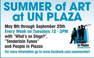 What's on Stage?  Tuesdays 12noon @ UN Plaza