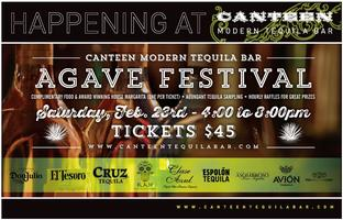 Canteen Modern Tequila Bar Agave Festival