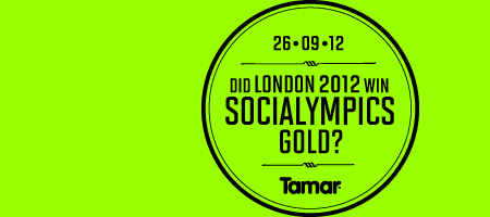 Did London 2012 win 'Social Olympics' Gold?