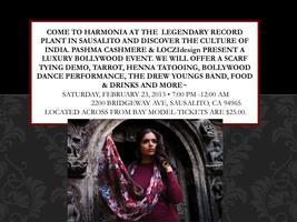 Harmonia presents: Pashma & LOCZIdesign Bollywood...