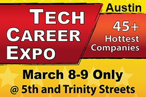 Tech Career Expo at the same time as SXSW Interactive