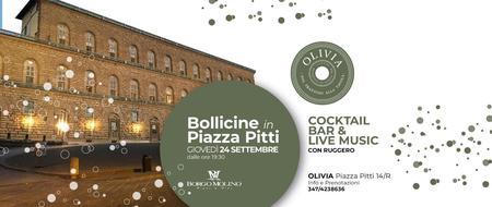 Bollicine in Piazza Pitti