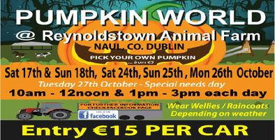 Pumpkin World  @Reynoldstown Animal Farm, Naul. Co....