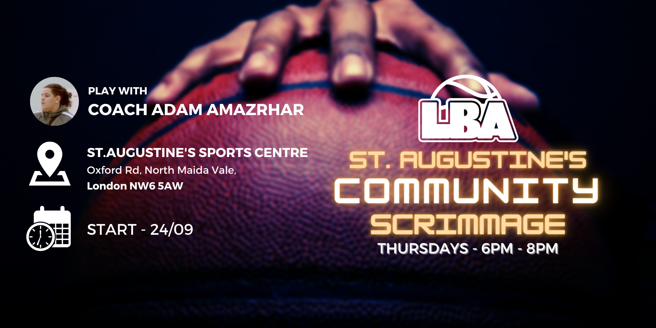 U18 St Augustine's Community Scrimmages - Weekly Basketball