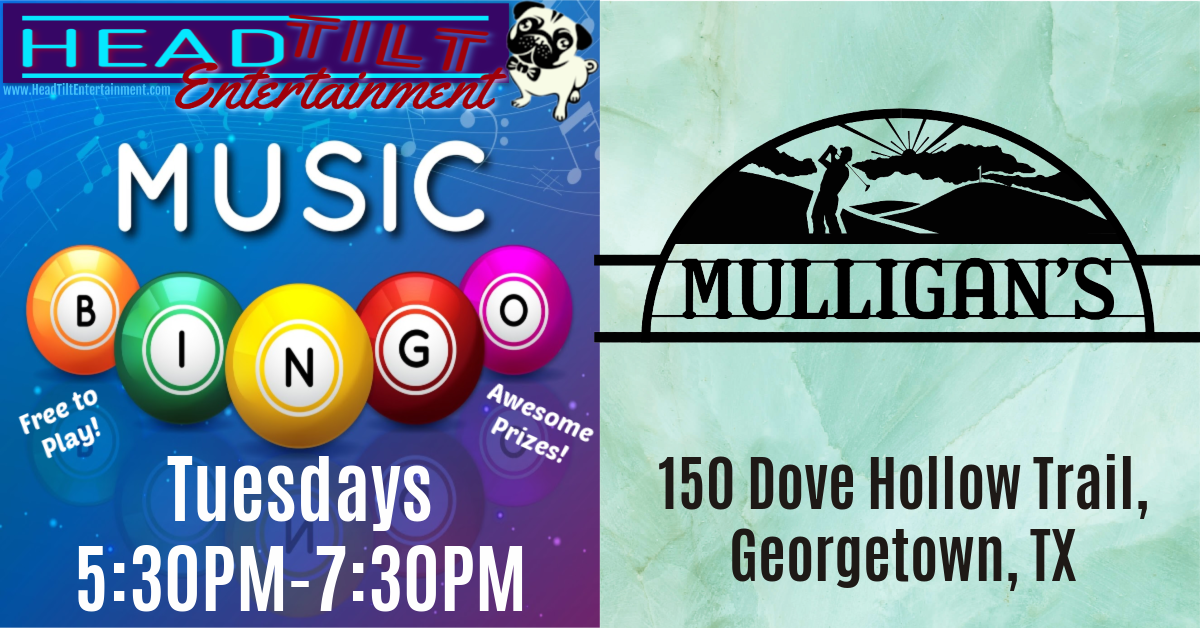 Music Bingo at Mulligan's Restaurant