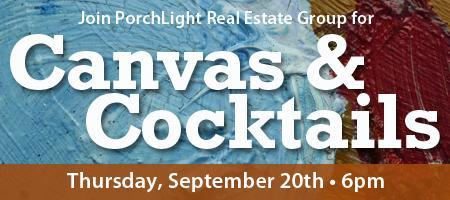 Canvas & Cocktails with PorchLight!