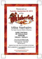 Oktoberfest!  Mike Nerheim Big Event!