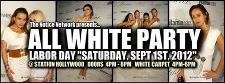 "Labor Day ""All White Party"" at Station Hollywood..."