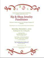 Sip and Shop Jewelry Fundraiser