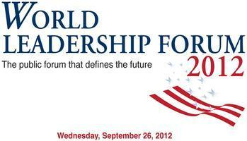 2012 World Leadership Forum Dinner