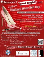 Diamond's Red Night Out!