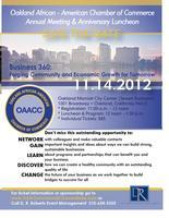 OAACC Annual Meeting & Anniversary Luncheon