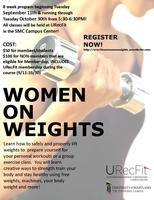 Women on Weights: 7-8AM