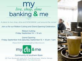 Community & Southern Bank Ribbon Cutting