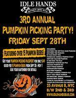 3rd Annual Pumpkin Picking Party