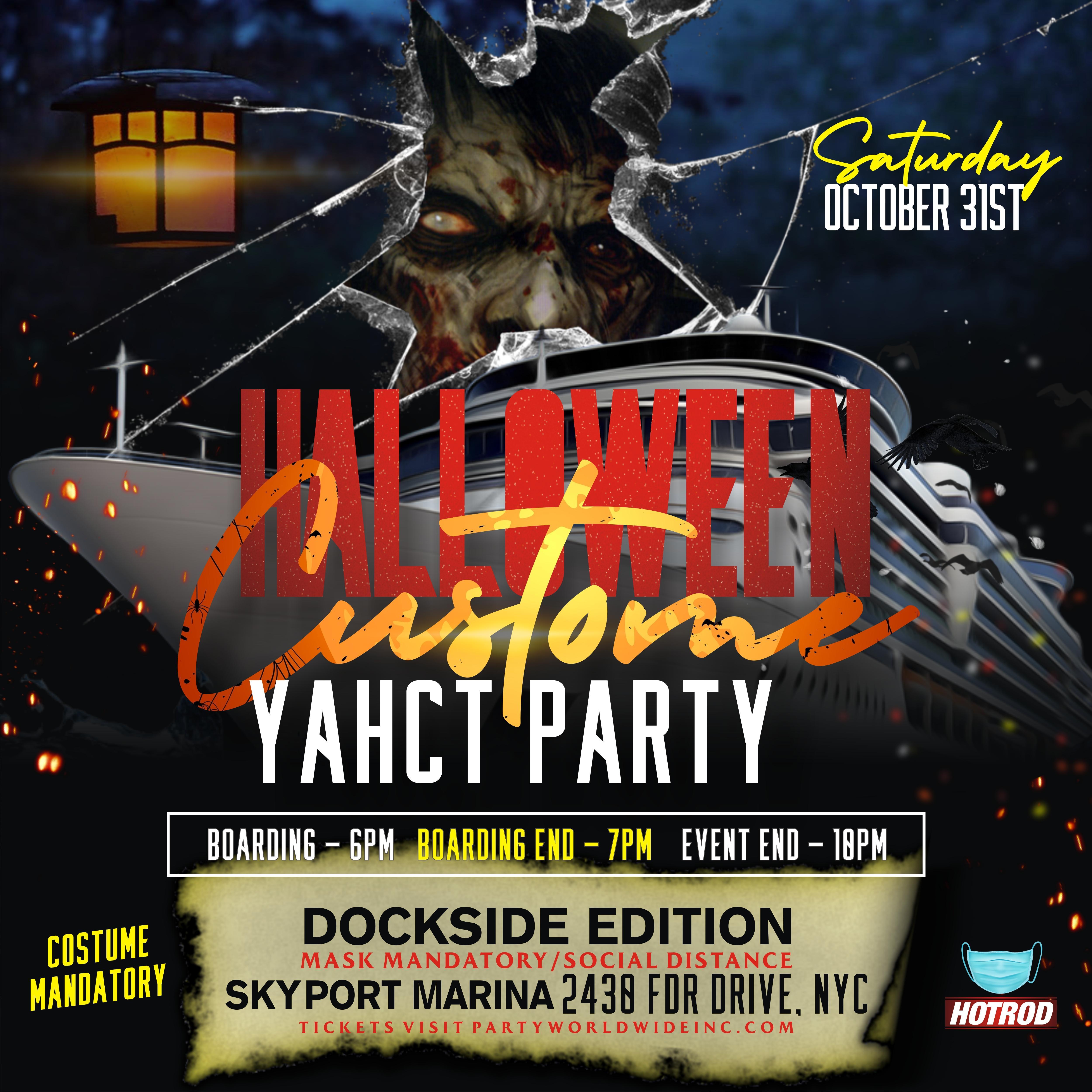 Halloween Events 2020 Nyc 31s HALLOWEEN NIGHT COSTUME YACHT Event Dockside NEW YORK CITY   31
