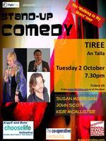 TIREE Stand-up Comedy - Walking in My Shoes Tour
