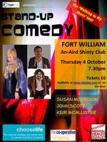 FORT WILLIAM Stand-up Comedy - Walking in My Shoes Tour