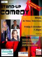 MULL Stand-up Comedy - Walking in My Shoes tour