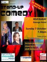 INVERARAY Stand-up Comedy - Walking in My Shoes Tour