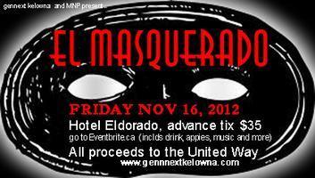El Masquerado presented by GenNext Kelowna & MNP