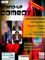 LOCHGILPHEAD Stand-up Comedy - Walking in My Shoes Tour