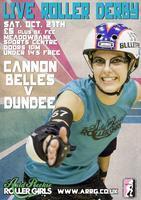 Live Roller Derby! ARRG Cannon Belles VS Dundee Roller...