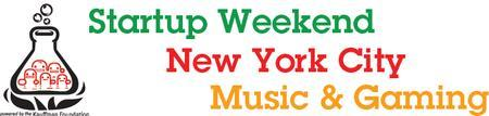 Music & Gaming Startup Weekend NYC