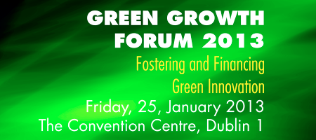 Green Growth Forum 2013