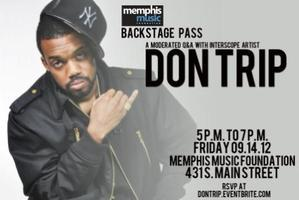 Backstage Pass with Don Trip