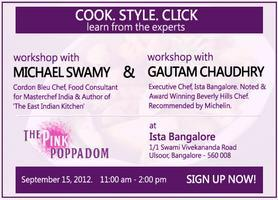 Cook. Style. Click with Michael Swamy & Gautam...