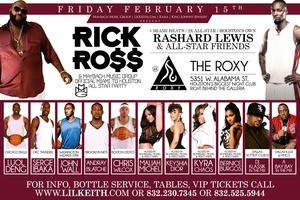 "RICK ROSS & MAYBACH MUSIC ""MIAMI TO HOUSTON"" ALL-STAR PARTY..."