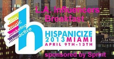 THIS SATURDAY MORNING!  L.A. Latino Influencers Meet...