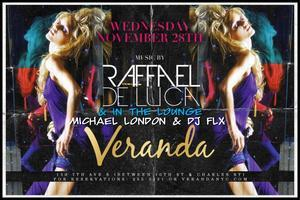 Upscale Wednesdays at Veranda Lounge! Every1 free on...