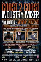 Coast 2 Coast Music Industry Mixer | NYC Edition - 11/26/12