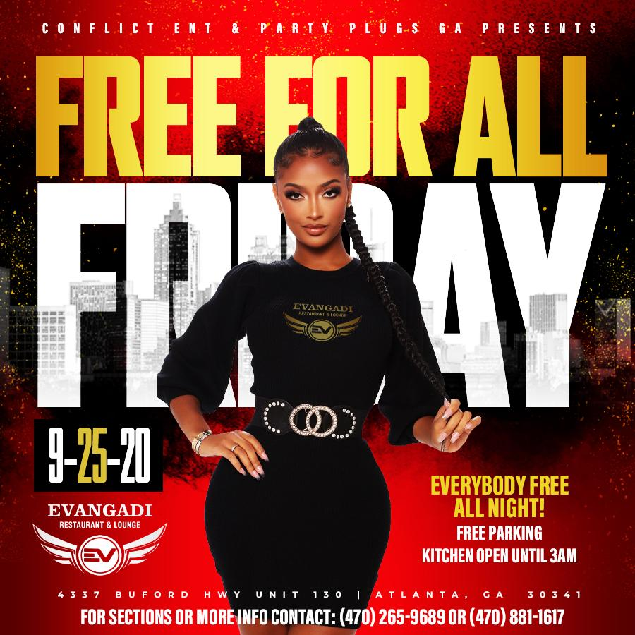 FOREIGN FRIDAYS AT EVANGADI LOUNGE | EVERY FRIDAY (10PM-2:30AM)