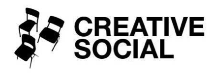 Creative Social NY Presents...   We Welcome Characters!
