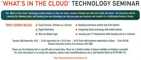 Technology Events: Cloud Computing