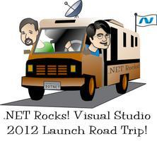 The .NET Rocks! Visual Studio 2012 Launch Road Trip!