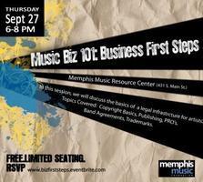 Music Biz 101 Series: Business First Steps