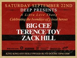 Deep - LA Libra Celebration Terence Toy, Big Cee &...