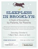Sleepless in Brooklyn: A Night of Storytelling with...
