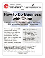 How to Do Business with China