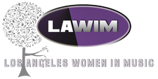 Los Angeles Women in Music (LAWIM) logo