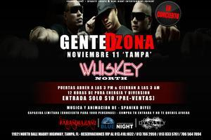 GENTE DE ZONA EN CONCIERTO AT WHISKEY NORTH