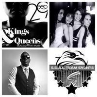 KINGS & QUEENS - BLACK & WHITE Birthday Extravaganza