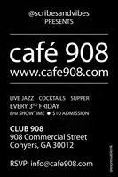 @scribesandvibes presents café 908
