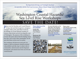 Washington State Coastal Hazards / Sea Level Rise...